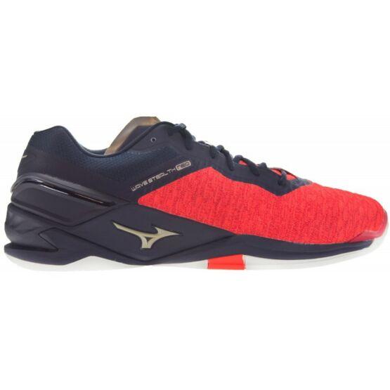Mizuno Wave Stealth Neo, kézilabdás cipő, unisex, piros/fekete