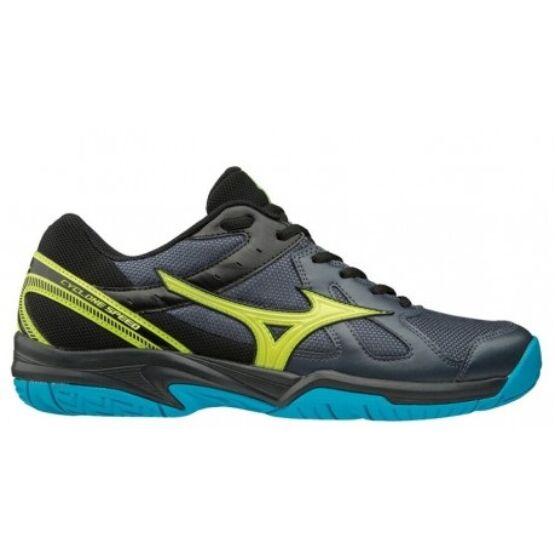 Mizuno Cyclone Speed röplabda gyerek cipő szürke, sárga