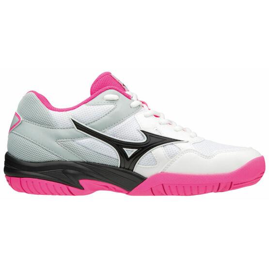 Mizuno Cyclone Speed röplabda gyerek cipő fehér, rózsaszín