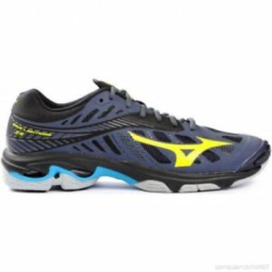 MIZUNO Wave Lightning Z4 fekete, sárga, kék