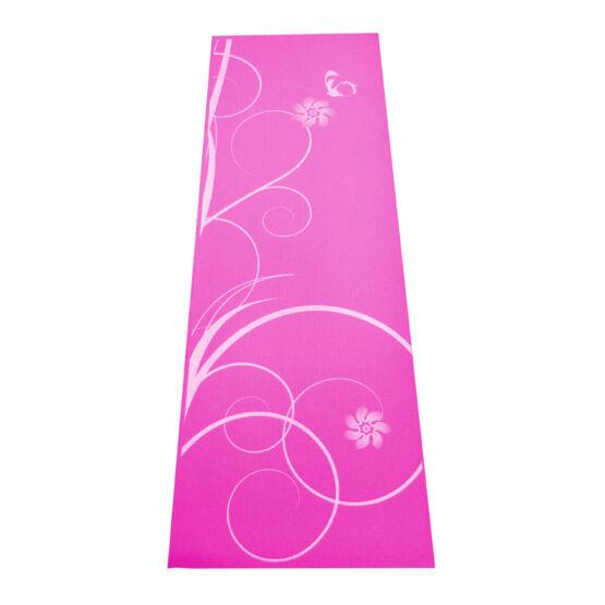 Yoga matrac mintás pink