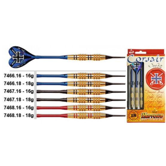 Darts Corsair soft készlet